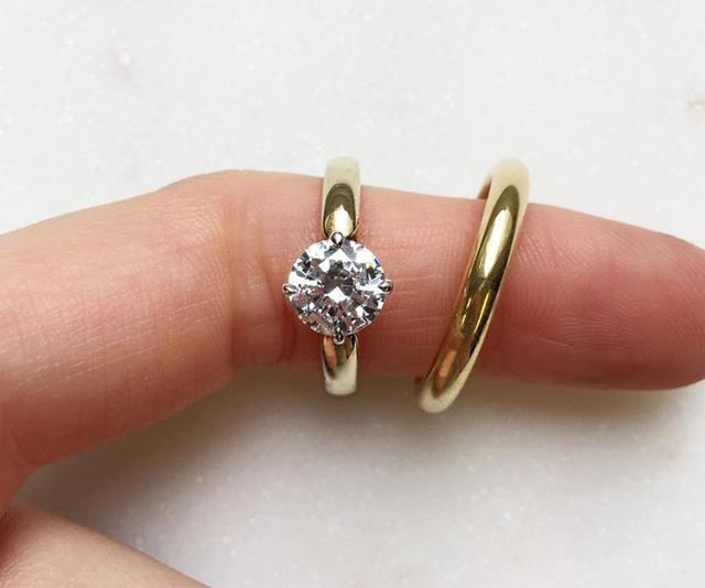 Minimalist Engagement Rings For The Simple Bride