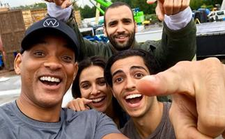 Okay, I Am in a Fight With This New 'Aladdin' Cast Photo