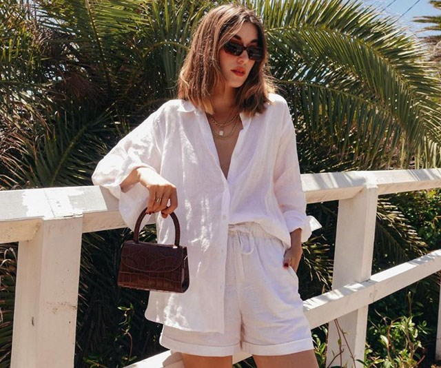 This $50 Linen Shirt Is Your New Summer Wardrobe Staple