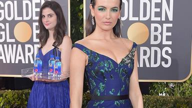 The Fiji Water Girl Has Become The Unsung Hero Of The 2019 Golden Globes
