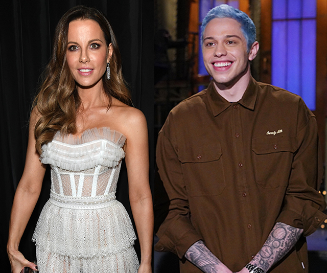 Pete Davidson, Kate Beckinsale Get Close At Netflix Golden Globes After-Party