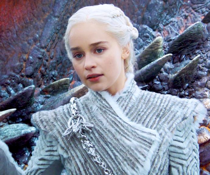 Daenerys Targaryen from 'Game of Thrones'.