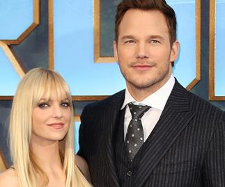 Anna Faris and Chris Pratt.