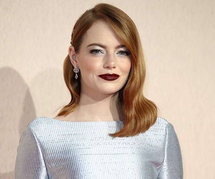Emma Stone Just Said Goodbye To Her Red Hair