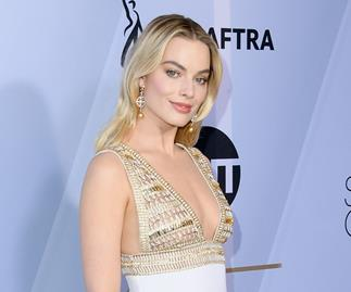 Margot Robbie Just Arrived At The SAG Awards Looking Like Perfection