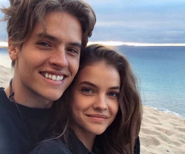 Dylan Sprouse and Barbara Palvin.