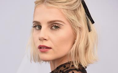 We Can't Get Over Lucy Boynton's Eye Makeup At The SAG Awards