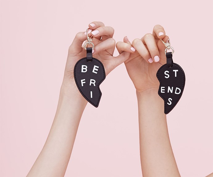 Pop and Suki key chains.