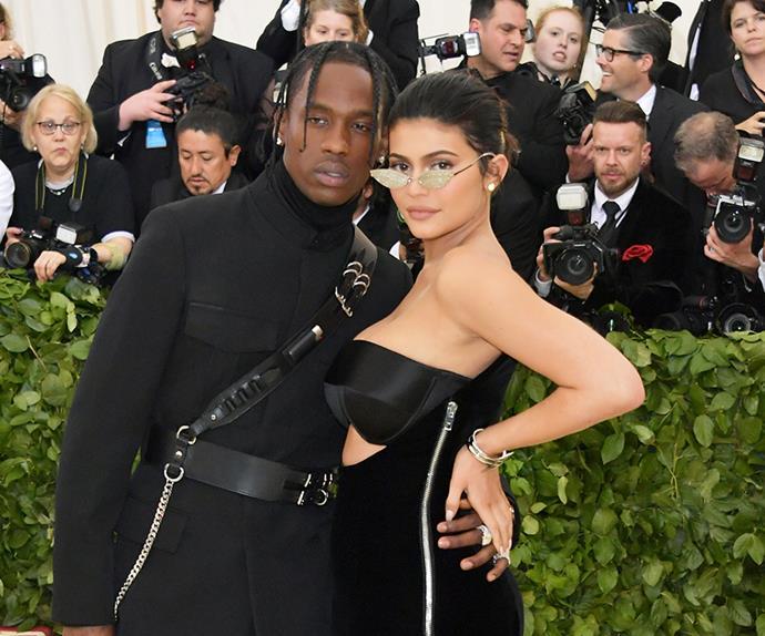 Kylie Jenner and Travis Scott.
