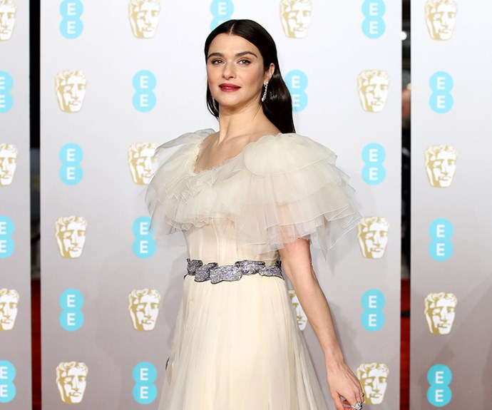 Rachel Weisz at the 2019 BAFTAs.