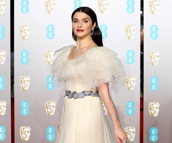 Rachel Weisz at the 2019 BAFTAs.