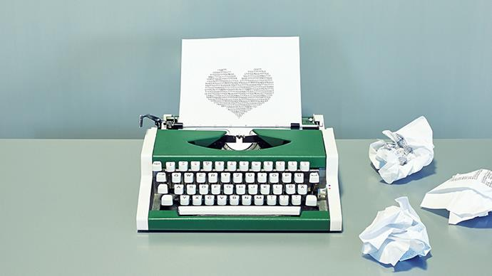 Valentine's Day messages.