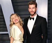 Miley Cyrus Sent A Very Racy Meme To Liam Hemsworth For Valentine's Day