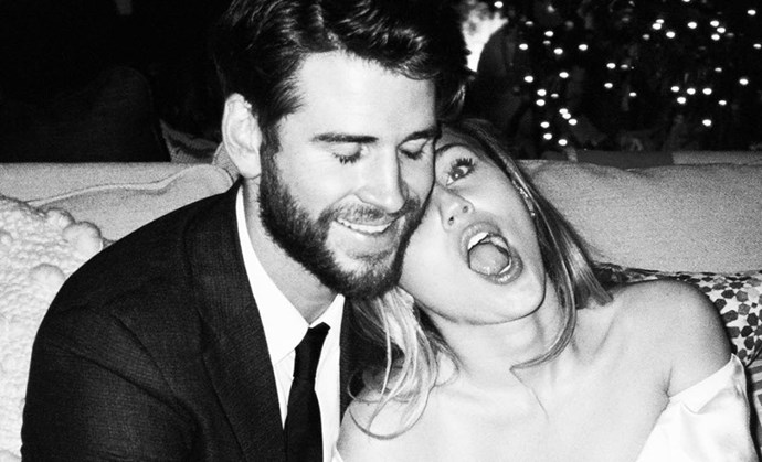 Miley Cyrus wedding photos