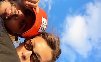 The Weeknd and Bella Hadid.