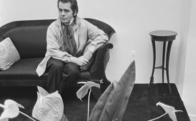14 Pictures Of A Young Karl Lagerfeld