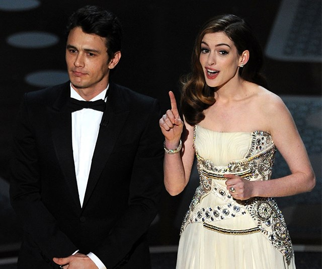 What Went Down When James Franco And Anne Hathaway Hosted The Oscars In 2011