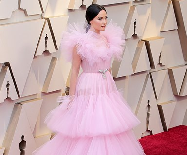 Actually Everyone Is Wearing Big Pink Dresses To The 2019 Oscars