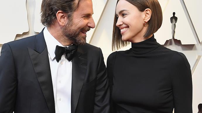 Irina Shayk and Bradley Cooper.