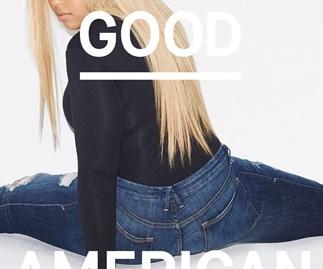 Jordyn Woods for Good American.