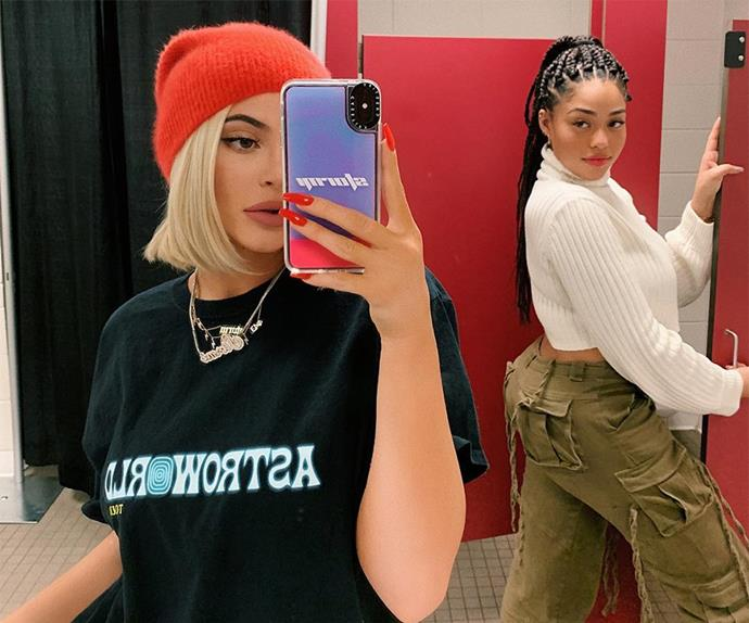 Kylie Jenner and Jordyn Woods.