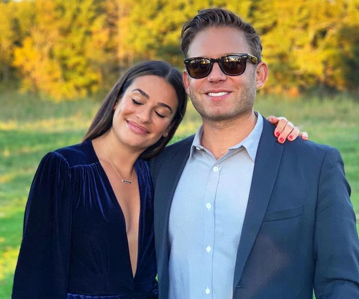 'Glee' Star Lea Michele Got Married In The Most Stunning Wedding Dress
