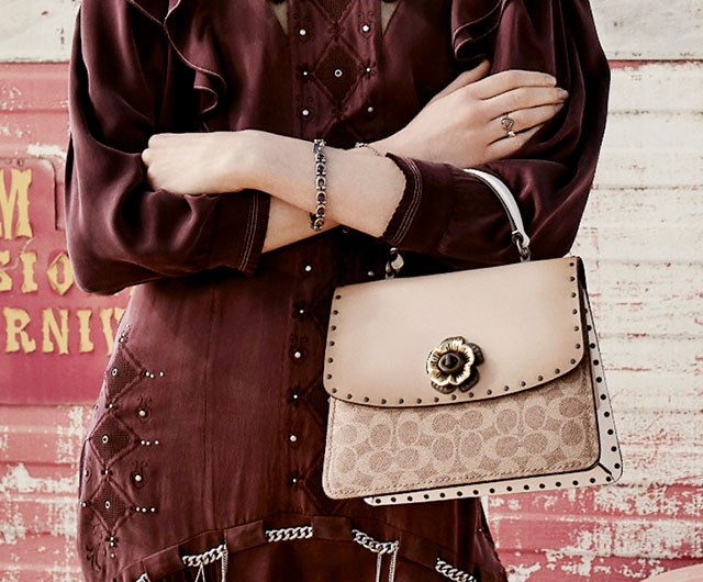 Up Your Ladylike Style And Win A New Coach Parker Handbag