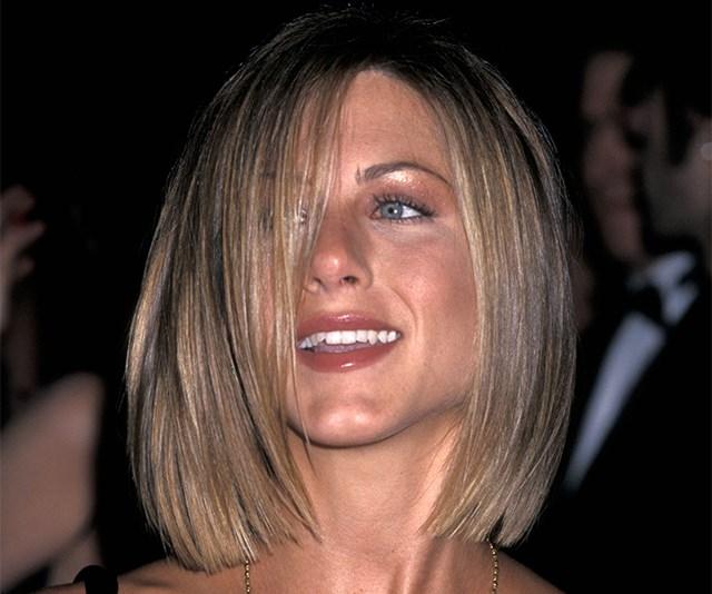 Jennifer Aniston's 2001 Bob Is The It-Haircut Of 2019