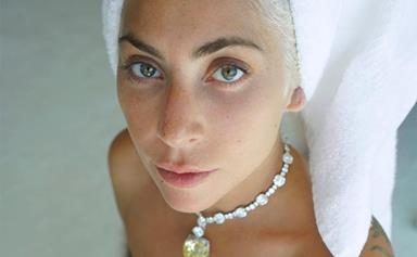 Lady Gaga Just Wore Crystal Eyeliner On The Red Carpet