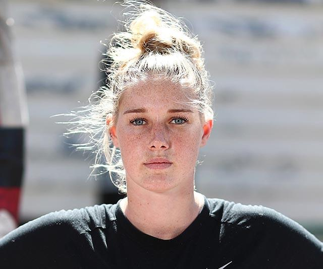 Tayla Harris: Tayla Harris Photo: AFLW Player Slams Derogatory Comments