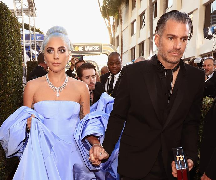 Lady Gaga Christian Carino Break Up