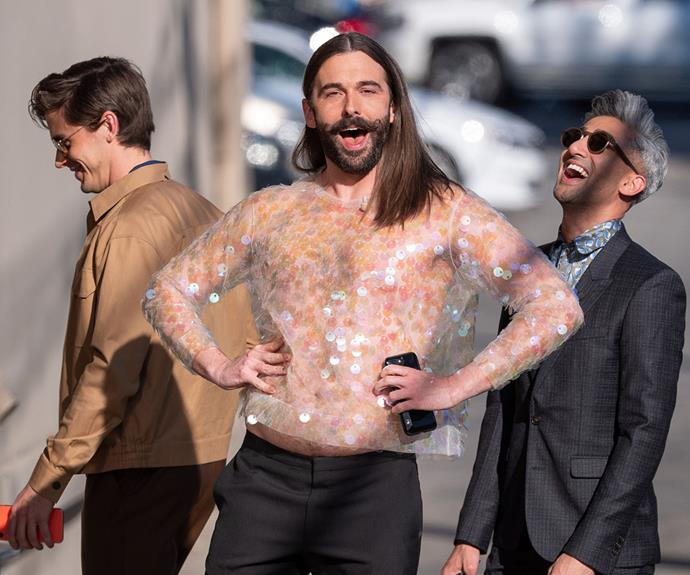 19 Of 'Queer Eye's' Jonathan Van Ness' Most Extra Style Moments, Honey
