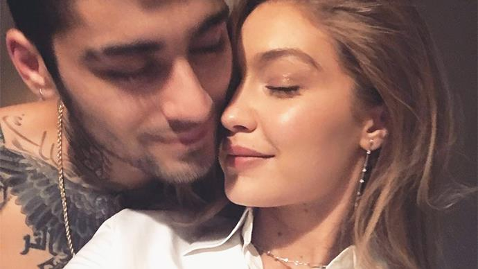 Zayn Malik and Gigi Hadid.