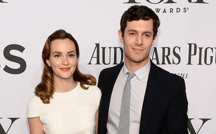 Leighton Meester and Adam Brody.