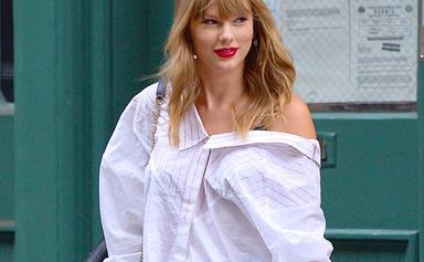 Taylor Swift Rocked A Very Mysterious Ring At The 'Cats' Wrap Party