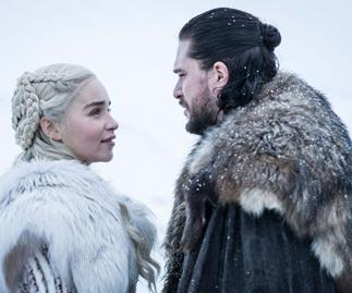 Daenerys Targaryen and Jon Snow in Game of Thrones season 8