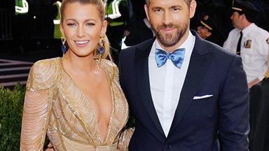 Blake Lively And Ryan Reynolds Had A Rare Moment Of PDA On Instagram