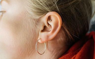 A Rook Piercing Is The Unusual Addition Your Curated Ear Needs