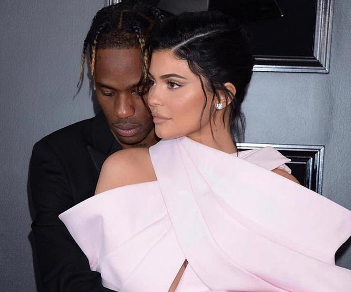 travis scott kylie jenner 28th birthday party