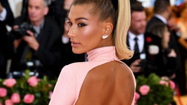 Hailey Bieber Is Wearing A G-String On The Met Gala Red Carpet