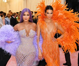 Kylie and Kendall Jenner at the 2019 Met Gala.