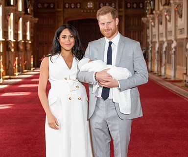 Prince Harry And Meghan Markle Just Announced The Royal Baby's Name