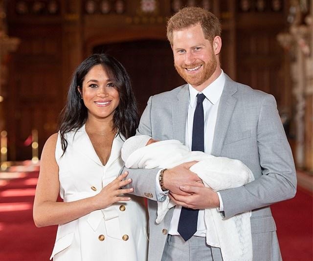 Prince Harry Meghan Markle Royal Baby First Photos 2019