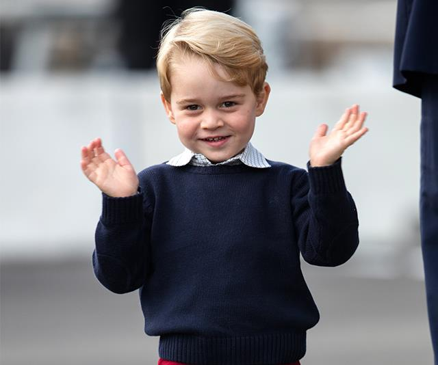 Prince George Leaked The Royal Baby's Name Way Back In January