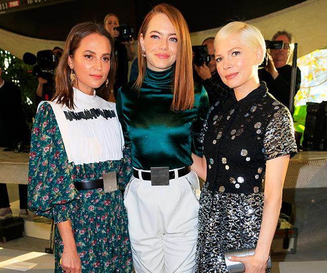 The Front Row At Louis Vuitton Cruise 2019 Was Seriously Star-Studded