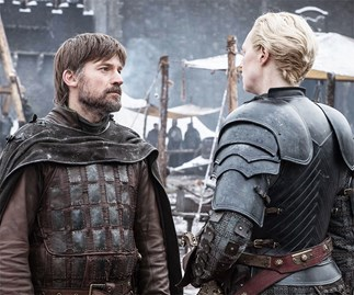 Brienne of Tarth and Jaime Lannister in 'Game of Thrones.'