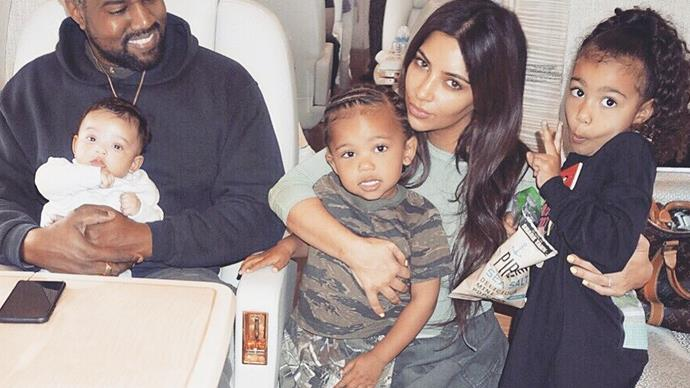 Kim Kardashian Fourth Baby Name Theory