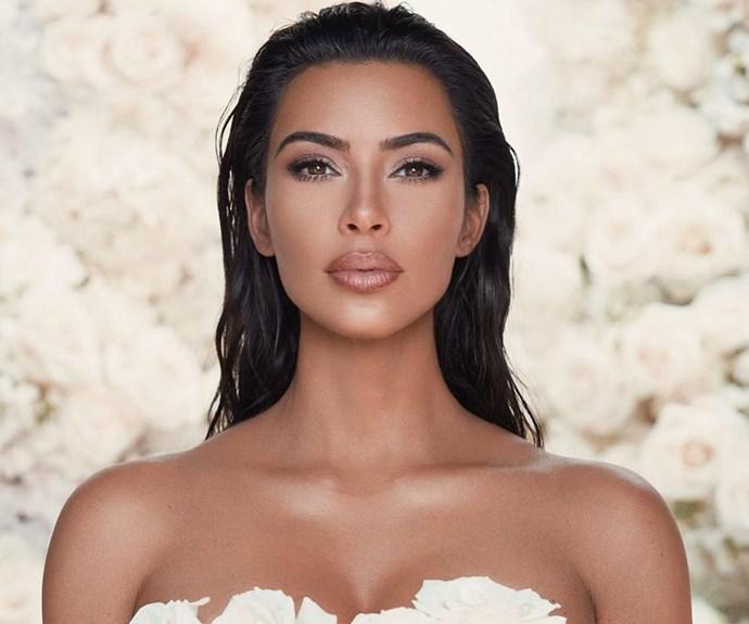 Kanye West Kim Kardashian Wedding Instagram