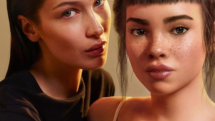 Bella Hadid MyCalvins Calvin Klein Campaign 2019