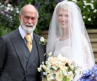 Lady Gabriella Windsor wedding dress.